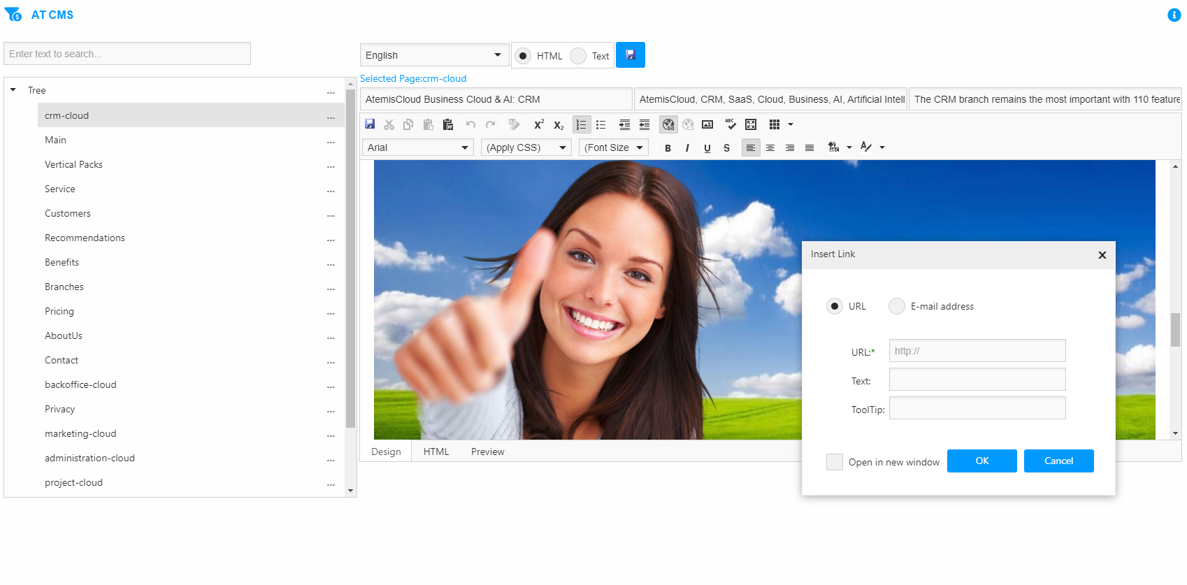 AtemisCloud   2.Marketing   Website Content Management System